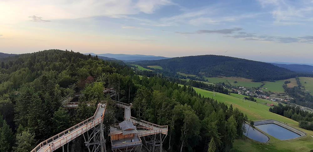 Wieża widokowa w Krynicy - zdj03