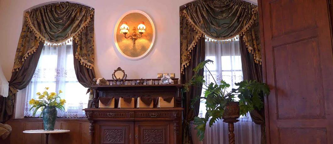 Villa Belvedere Kudowa Zdrój wnętrze